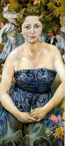 Stanley Spencer - Portrait of Mrs Marjorie Metz