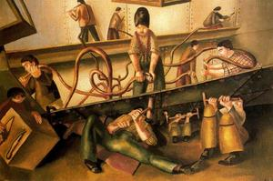 Stanley Spencer - Riveters