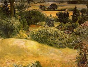 Stanley Spencer - Rock Garden. Cookham Dene