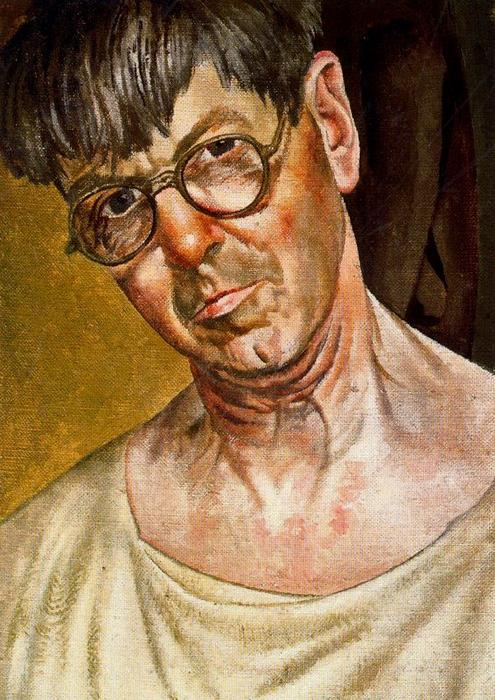 Self Portrait 1 by Stanley Spencer (1891-1959, United Kingdom)