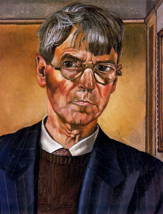 Self Portrait by Stanley Spencer (1891-1959, United Kingdom)
