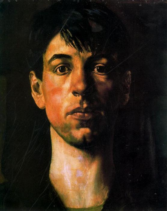 Self-Portrait 1 by Stanley Spencer (1891-1959, United Kingdom)