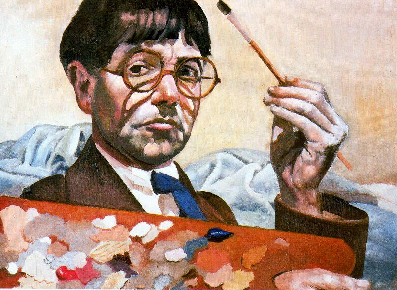 Self-Portrait 2 by Stanley Spencer (1891-1959, United Kingdom)