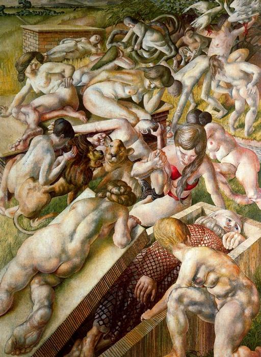 Sin título 1 by Stanley Spencer (1891-1959, United Kingdom)