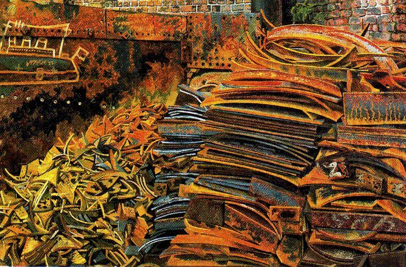 The Scrap Heap by Stanley Spencer (1891-1959, United Kingdom) | Museum Art Reproductions | ArtsDot.com