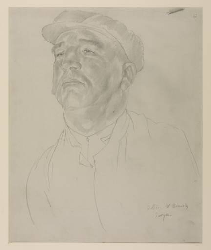 William McBrearty, Sawyer by Stanley Spencer (1891-1959, United Kingdom)