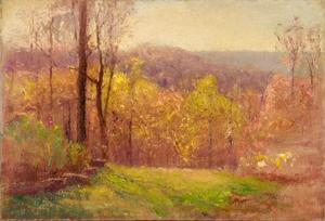 Theodore Clement Steele - A Song of Spring