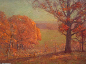 Theodore Clement Steele - Autumn Morning