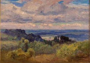 Theodore Clement Steele - Blue Hills and Sky