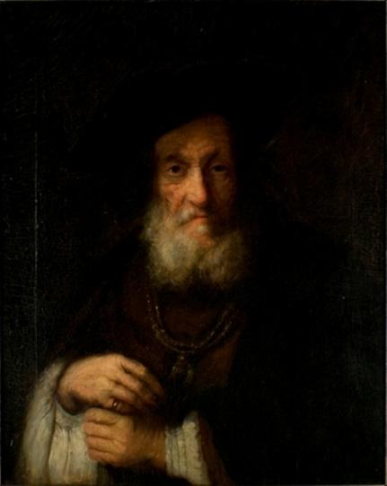 Copy of a Rembrandt by Theodore Clement Steele (1847-1926, United States)