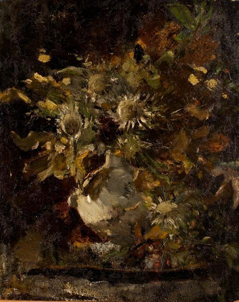 Flowers 1 by Theodore Clement Steele (1847-1926, United States) | Art Reproduction | ArtsDot.com