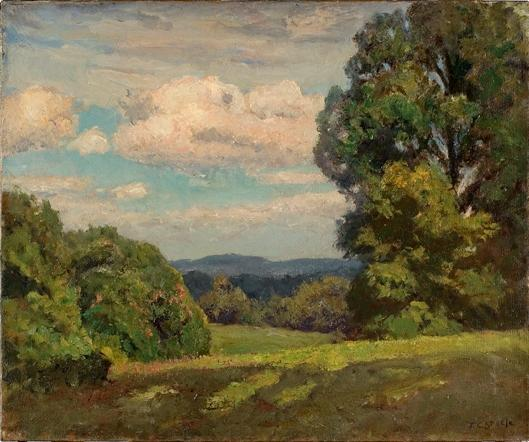 From the Knoll by Theodore Clement Steele (1847-1926, United States)