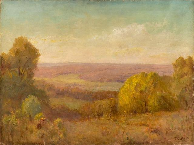 Golden Afternoon by Theodore Clement Steele (1847-1926, United States)