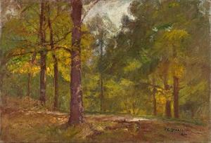 Theodore Clement Steele - Golden Autumn