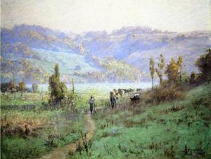 Theodore Clement Steele - In the Whitewater Valley near Metamora