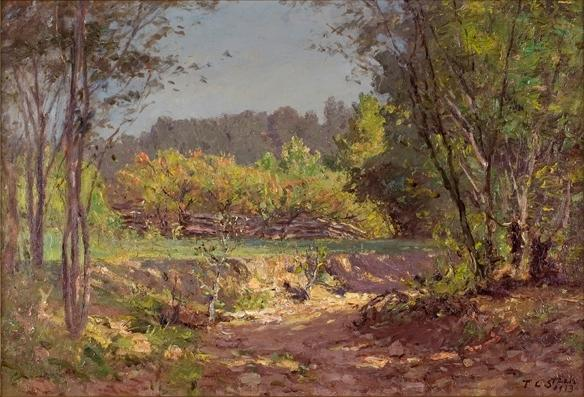 Landscape 11 by Theodore Clement Steele (1847-1926, United States)