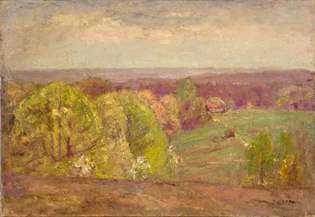 Landscape 3 by Theodore Clement Steele (1847-1926, United States) | ArtsDot.com