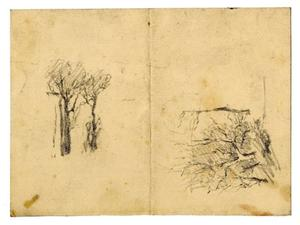 Theodore Clement Steele - Landscape sketch 12