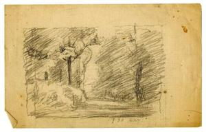 Theodore Clement Steele - Landscape sketch 13