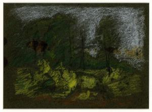 Theodore Clement Steele - Landscape sketch 6