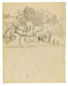 Theodore Clement Steele - Landscape sketch 7