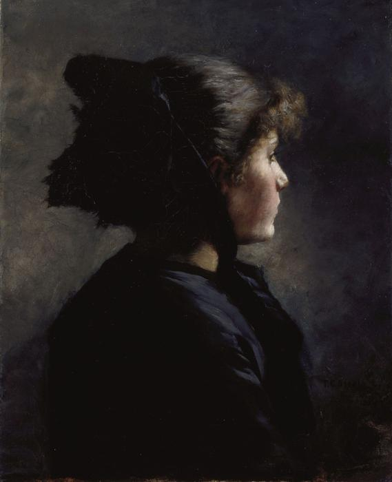Munich Girl by Theodore Clement Steele (1847-1926, United States) | ArtsDot.com