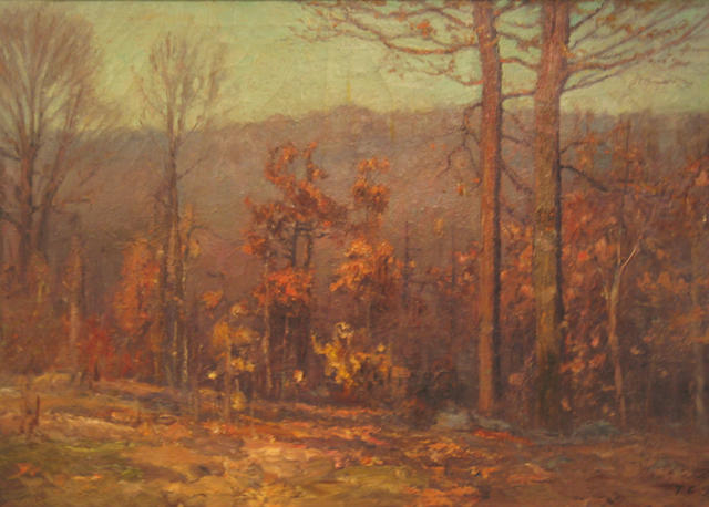 October by Theodore Clement Steele (1847-1926, United States)