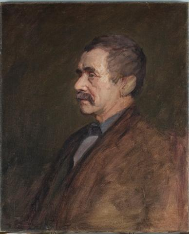 Portrait of a man 4 by Theodore Clement Steele (1847-1926, United States)