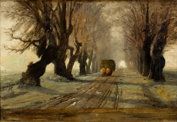 Road to Schleissheim 1 by Theodore Clement Steele (1847-1926, United States) | ArtsDot.com