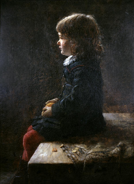 Shirley Steele 1 by Theodore Clement Steele (1847-1926, United States) | Art Reproduction | ArtsDot.com