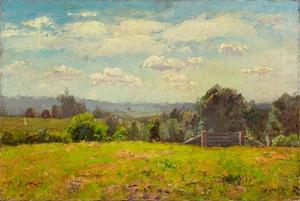 Theodore Clement Steele - The Pasture and the Distant Hills