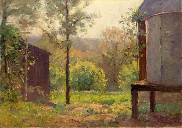 The Water Tank by Theodore Clement Steele (1847-1926, United States) | ArtsDot.com