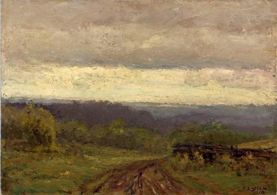 Valley View by Theodore Clement Steele (1847-1926, United States)