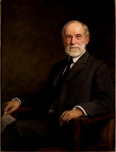 Volney T. Mallot by Theodore Clement Steele (1847-1926, United States) | Museum Quality Reproductions | ArtsDot.com