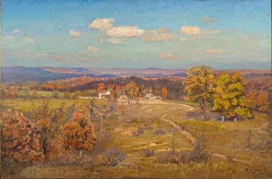 Winding Road by Theodore Clement Steele (1847-1926, United States)