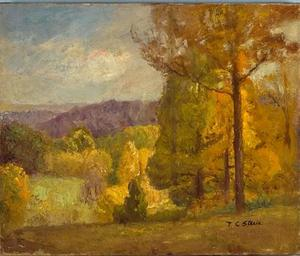 Theodore Clement Steele - Wooded Hills in Autumn