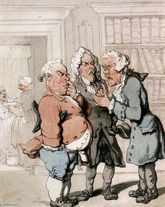 Thomas Rowlandson - The Doctor-s Consultation