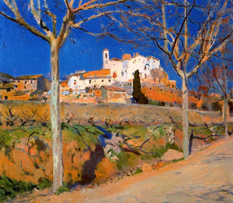 Canyelles by Joaquin Mir Trinxet (1873-1940, Spain)