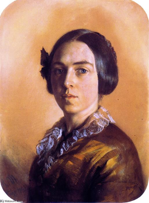Caroline Arnold, Drawing by Adolph Menzel (1815-1905, Poland)