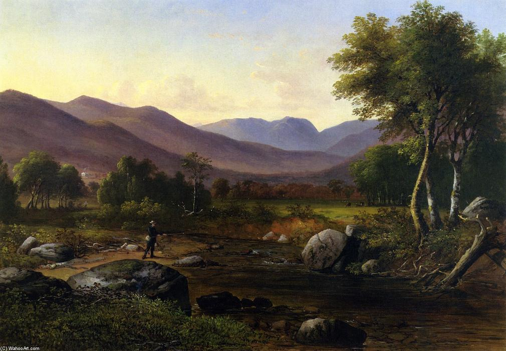 Carter Notch from the Wildcat River, 1854 by James Wells Champney (1843-1903, United States) | Museum Art Reproductions | ArtsDot.com