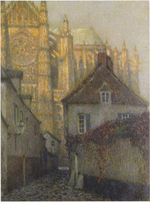 The Cathedral at Beauvais, 1900 by Henri Eugène Augustin Le Sidaner (1862-1939, Mauritius) | ArtsDot.com