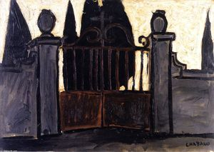 Auguste Chabaud - Cemetery Gate