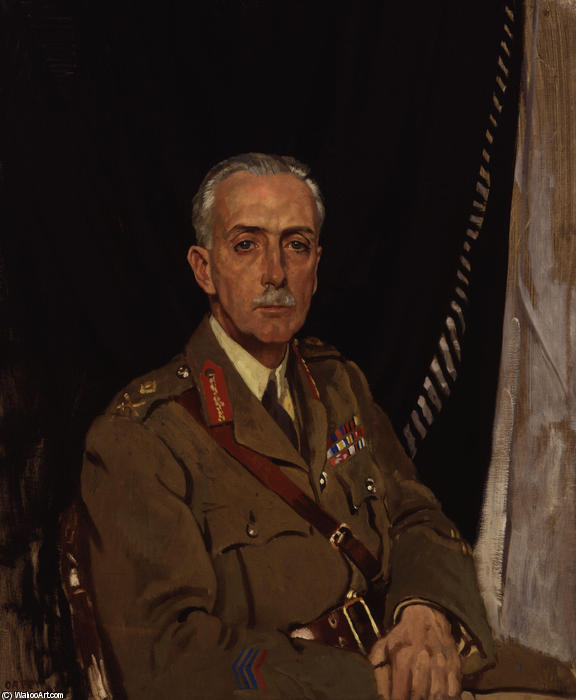 Charles Sackville West 4th Baron Sackville by William Newenham Montague Orpen (1878-1931, Ireland) | Art Reproduction | ArtsDot.com