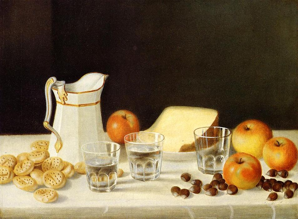 Cheese, Crackers and Chestnuts by John F Francis (1905-1990, United States) | ArtsDot.com