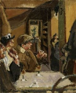 Walter Richard Sickert - Chez Vernet