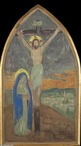 Paul Serusier - Christ on Cross