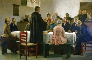 Julius Garibaldi Melchers - Communion