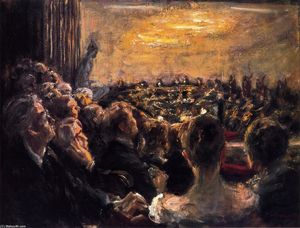 Max Liebermann - Concert in the Opera Hous..