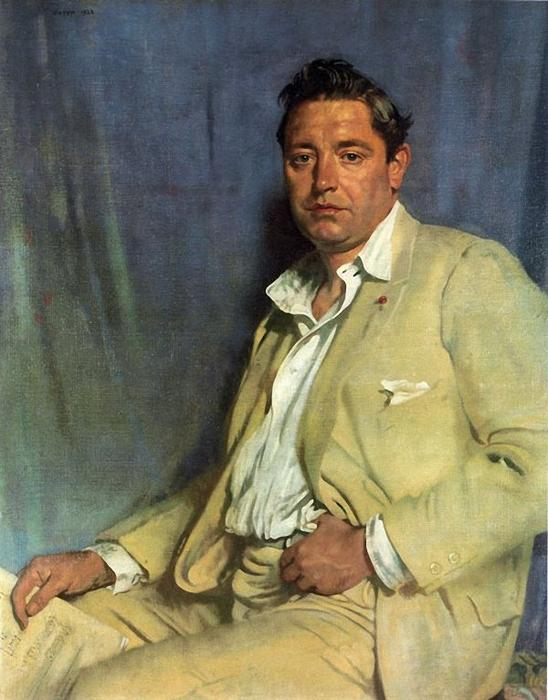 Count John McCormack by William Newenham Montague Orpen (1878-1931, Ireland)