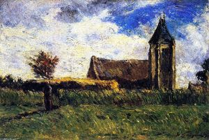 Paul Gauguin - Country Church